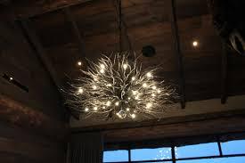 Branch Chandelier Ironglass Lighting Custom Branch Chandelier Ii
