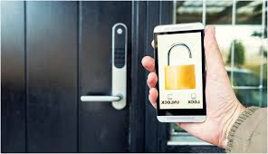 front door electronic lock a guide on smart locks explained smart security for a connected