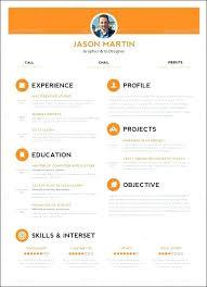Unique Resume Formats Custom creative cv templates free atomichouseco