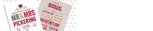 Personalised Valentine's Day Cards From £1.49 | Gettingpersonal.co.uk