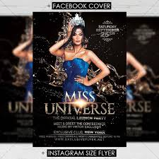 Meet And Greet Flyers Templates Miss Universe Club A5 Flyer Template
