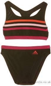 adidas 2 piece. adidas girls\u0027 infinitex 3-stripes 2 piece bikini
