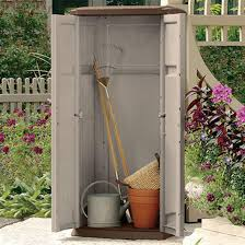 Outdoor Storage Cabinets With Doors Storage Grey Outdoor Storage Sheds Completed With Dark Grey Doors