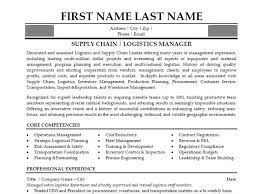 Brilliant Ideas of Supply Chain Manager Resume Sample For Your Free Download