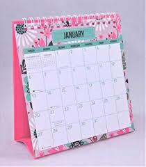 standup desk calendars 2019 standing desk calendar jan dec monthly flowers