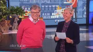 Bill Gates rät Lebensmittelpreise bei Ellen DeGeneres