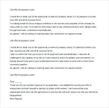 Accept Offer Letter Reply Offer Letter Acceptance Mail Format Example Accept Through Reply
