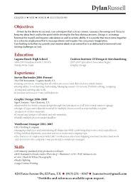 Hospitality Objective Resume Samples Bartender Resume Sample Objective Resumes Examples 100 94