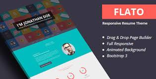 Flatoo V4 0 Vcard Resume Personal Wordpress Theme Скачать