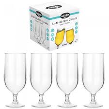 acrylic beer cocktail glass