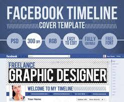 facebook timeline psd cover template