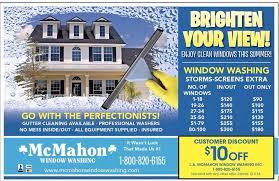 N McMahon Window Washing U0026 Gutter Cleaningu0027s