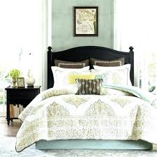 navy king size bedding and yellow white comforter sets