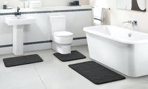 embossed memory foam bath rug set 3 piece bathroom rugs memory foam bathroom rugs