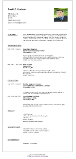 Make A Resume For Free Fast Make a quick resume 68