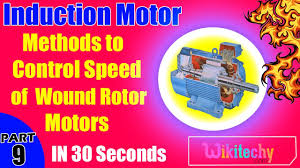 what are the methods to control sd of wound rotor motors induction motor interview questions