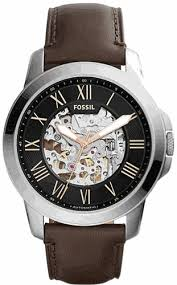 fossil grant automatic skeleton watch me3100 men s fossil grant automatic skeleton watch me3100