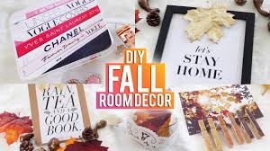 Diy Fall Decorations Diy Tumblr Fall Room Decor Youtube
