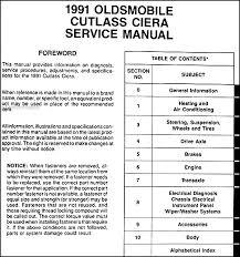 similiar 95 oldsmobile cutlass ciera service keywords 1991 oldsmobile cutlass ciera wiring diagram
