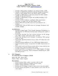 Beautiful Failure Analysis Engineer Resume Photos - Simple resume .