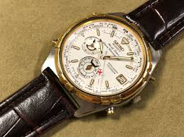 jal limitated model seiko word timer seiko world timer alarm chronograph 6m15 0020
