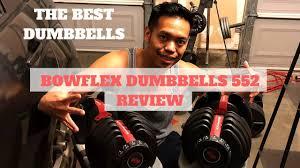 bowflex selecttech 552 adjule dumbbell set 2018 review best dumbbells for beginners