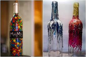 Ideas To Decorate Wine Bottles Ideas Home Garden Architecture Furniture Interiors Design 10