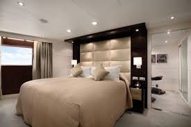 Contemporary Bedroom Design Wall Mounted Tall Wall Mounted Headboard.  Double bed headboards.