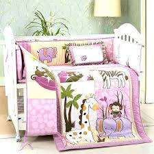 safari bedding set safari crib bedding set jungle themed nursery bedding sets pink safari baby bedding