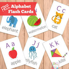 Play and learn abcs with these free printable alphabet flash cards. Printable Alphabet Flash Cards Abc Itsybitsyfun Com