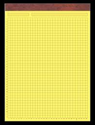 4x4 Graph Grid Pads Online Proof System Customized Grid Graph Pads