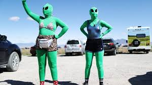 Alien Enthusiasts Attend Storm Area 51 Event