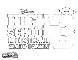 Small Picture HIGH SCHOOL MUSICAL coloring pages Coloring pages Printable