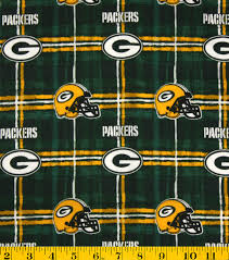 NFL Flannel Fabric- Green Bay Packers | JOANN & Green Bay Packers Flannel Fabric 42\u0022-Plaid Adamdwight.com