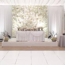 Flower Backdrop Wedding Hire