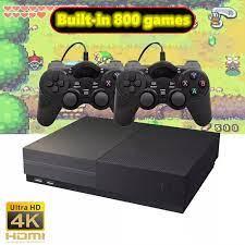 HD TV oyun konsolu Dahili 800 Oyunları Desteği çoklu oyunu simülatörleri  Iki oyuncu Kolu oyun makinesi HDMI Klasik Somatosensorial Video Game  Consoles