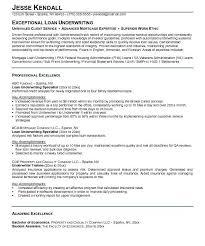 Download Underwriting Resume