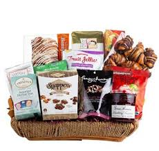 healing fort condolence gift basket