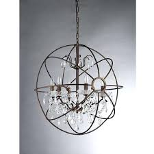 antique bronze crystal chandelier living cute antique bronze 4 light round crystal chandelier 8 copper grove
