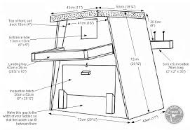 Barn Owl boxes for trees   The Barn Owl TrustBarn Owl boxes for trees plans Diagram Dimensions