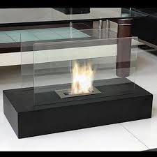 image of gel fuel fireplace tabletop