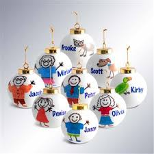 Heirloom Personalized Christmas Ornaments for the Entire Family Including  New Baby Gifts