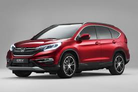 new car launches europe 2015Hondas 2015 CRV Facelift for Europe Gets New 160PS 16L Diesel