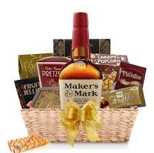 maker s mark bourbon gift basket