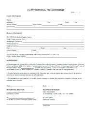 Printable Customer Information Form Referral Program Template Employee Incentive Customer Letter