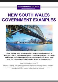 Gcg has helped me to take care of everything which enabled me to focus on my operation and recovery. Government Examples Nsw Government By 1300 Resume Issuu
