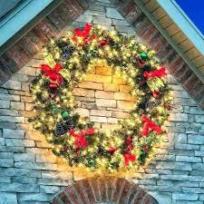 light up wreaths outdoors wreath large outdoor lit ideas furniture front door