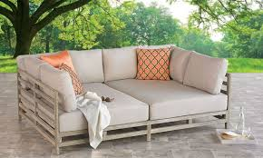 st george solid eucalyptus outdoor daybed