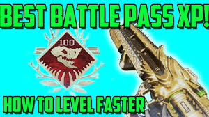 Apex Legends - How to Level Up the Battle Pass Faster | Top Battle ...