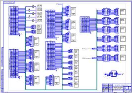 АСУ процессом атмосферной перегонки нефти Схема соединений и  АСУ процессом атмосферной перегонки нефти Схема соединений и подключений Чертеж Машины и аппараты нефтехимических
